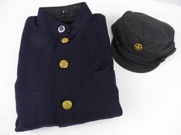 【鉄道放出品】名鉄・制服上着・帽子