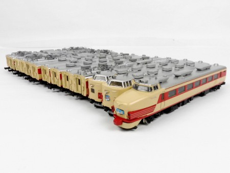 485系各種,鉄道模型